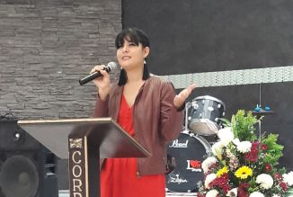 First time preaching in Celaya