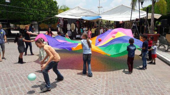 The Parachute in Tarimoro